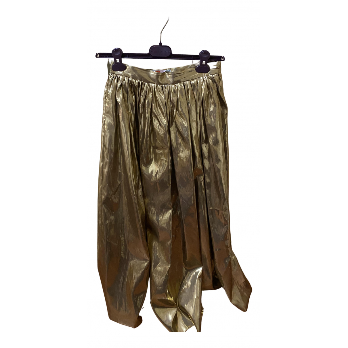Msgm \N Metallic skirt for Women 42 IT