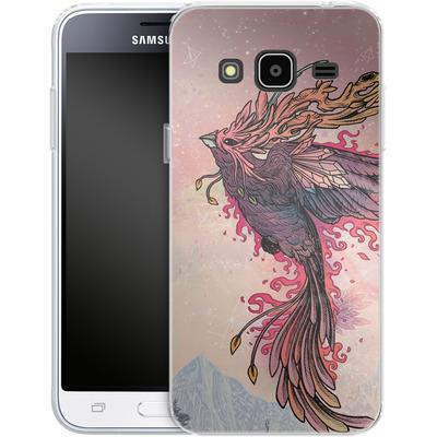 Samsung Galaxy J3 (2016) Silikon Handyhuelle - Phoenix von Mat Miller