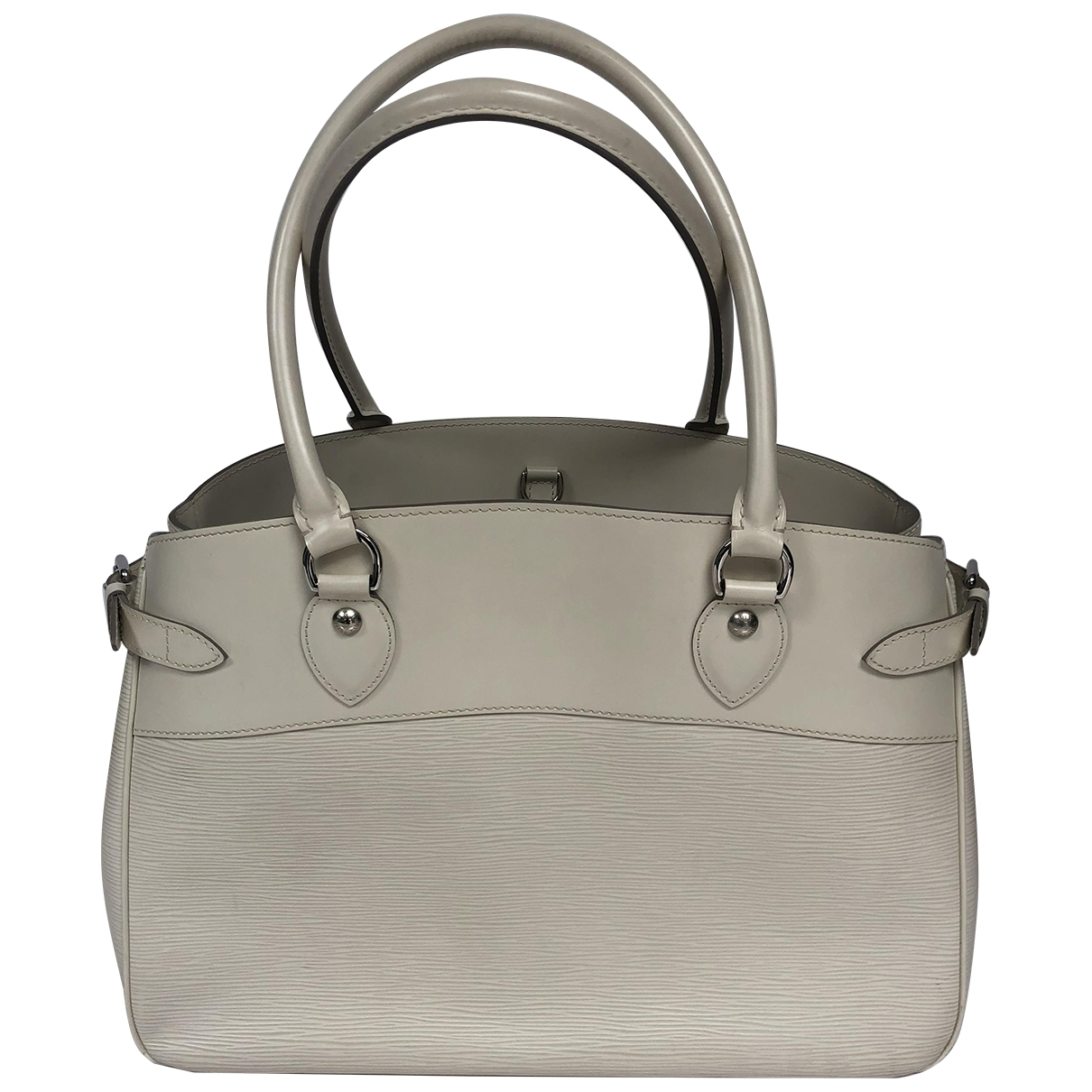 Louis Vuitton Passy Beige Leather handbag for Women \N