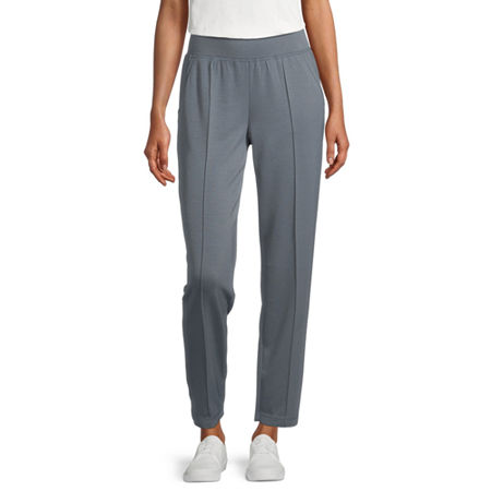 Stylus Pintuck Womens Jogger Pant, X-large , Blue