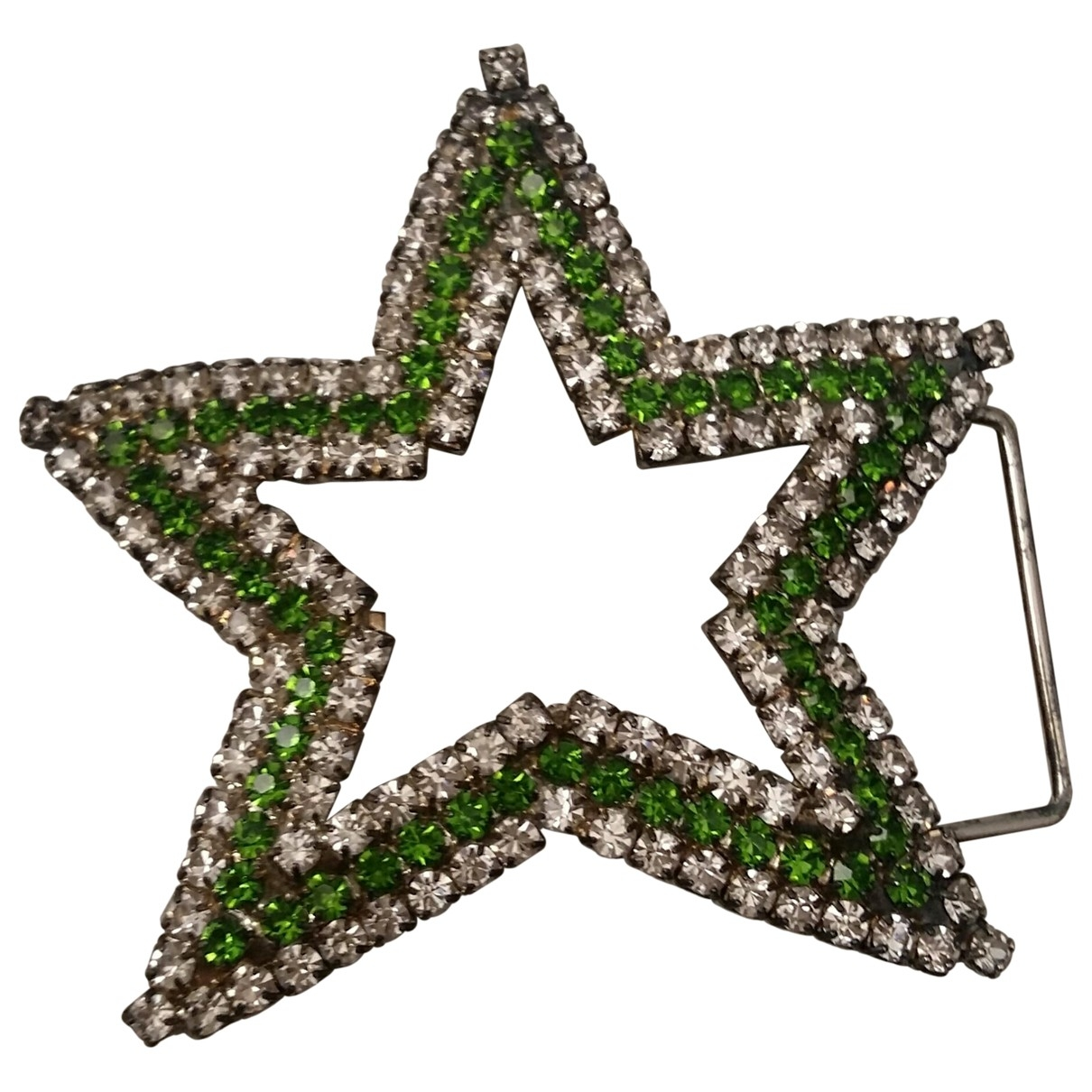 Non Signé / Unsigned Motifs Etoiles Silver Metal Pins & brooches for Women \N