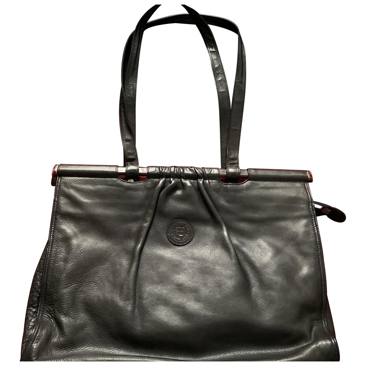 Fendi \N Blue Leather handbag for Women \N