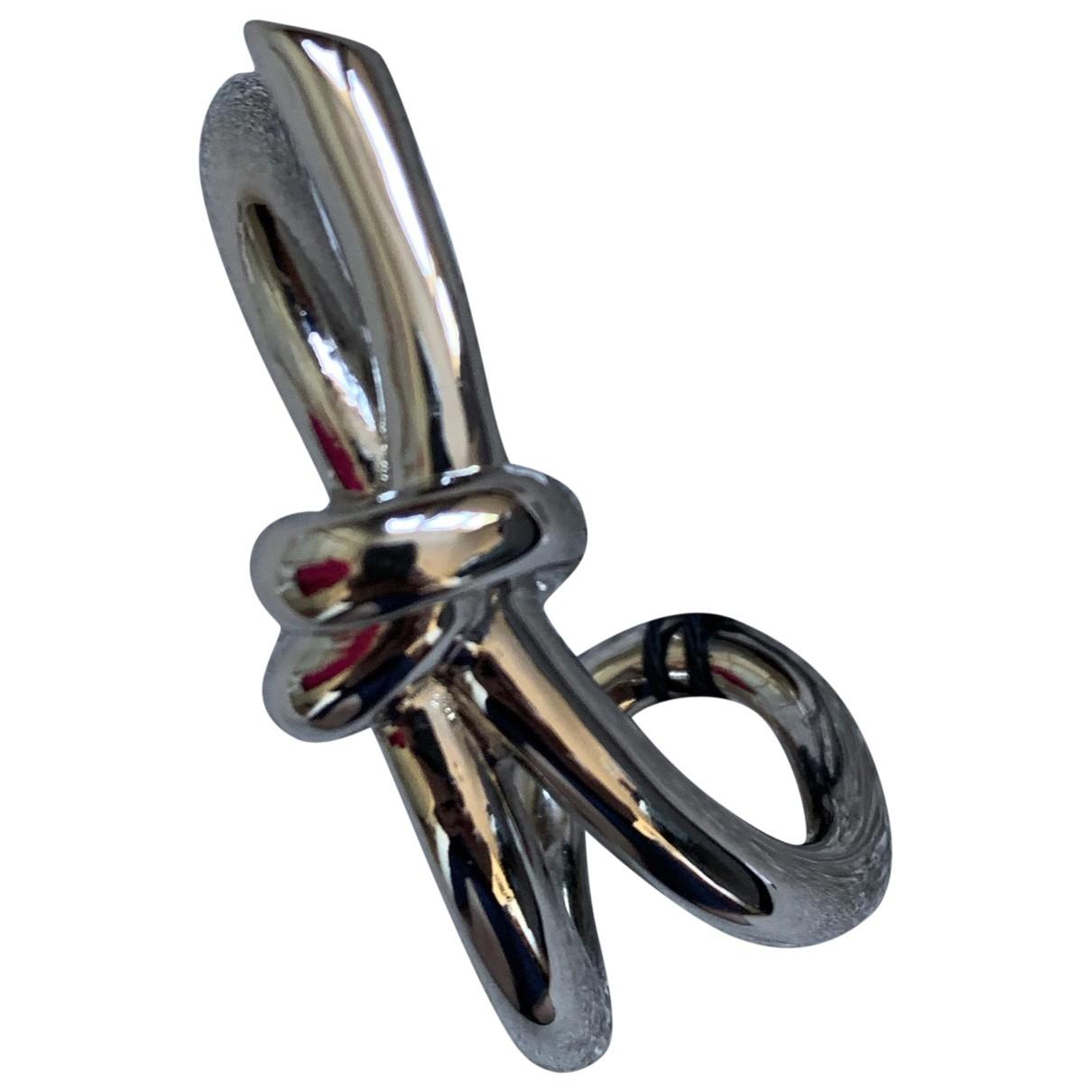 Balenciaga - Bracelet   pour femme en or et acier - argente