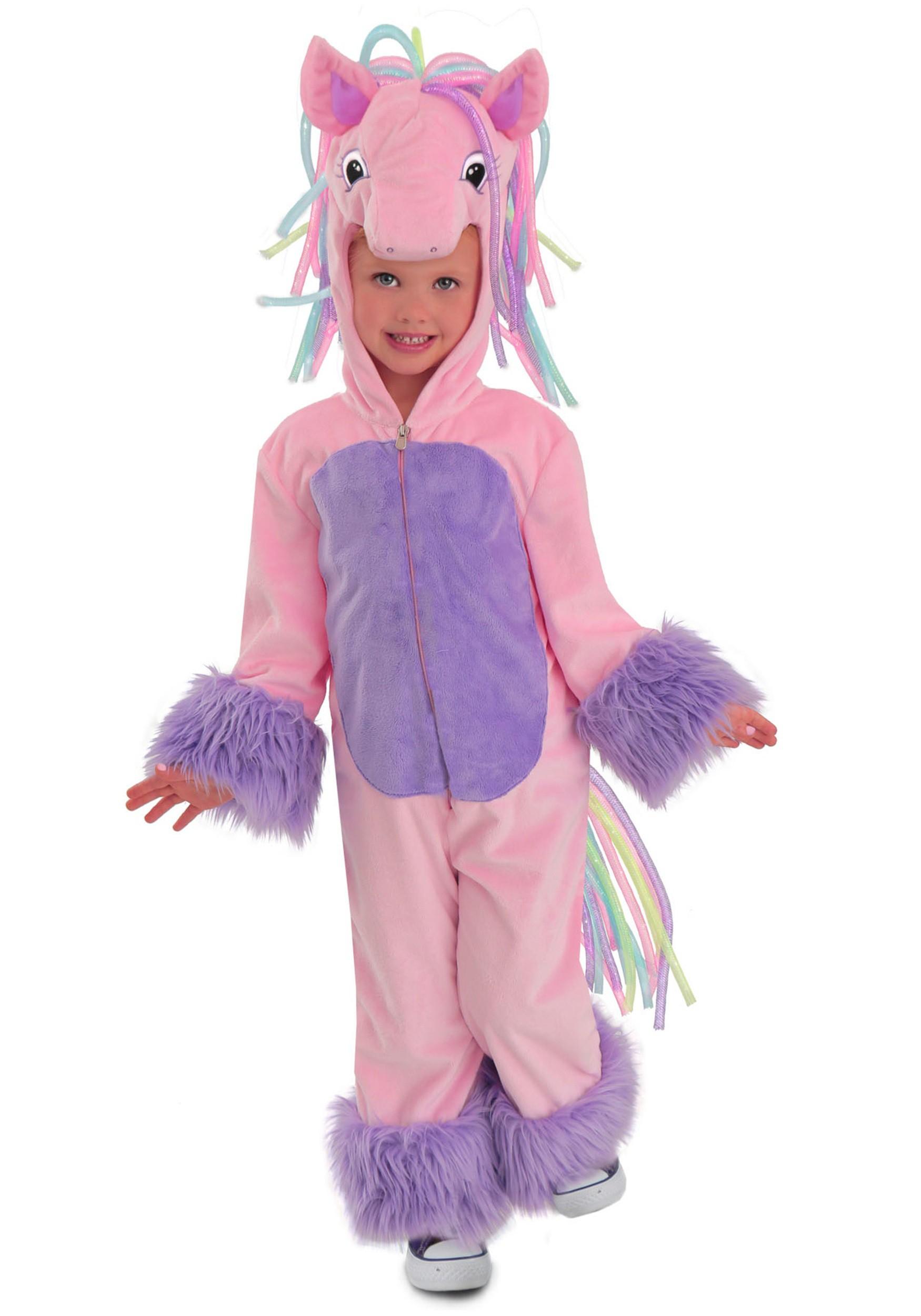 Child Rainbow Pony Costume