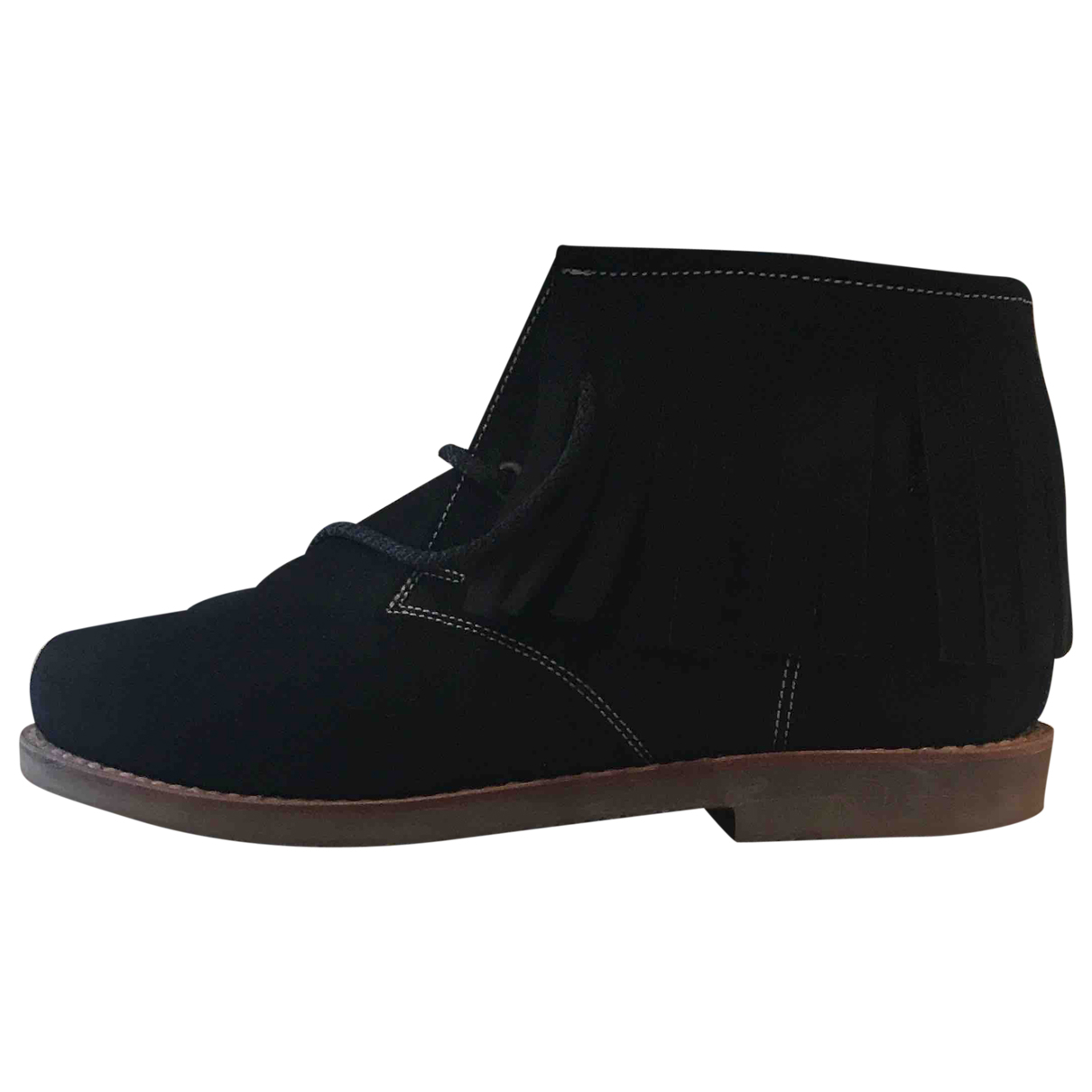 Penelope Chilvers \N Black Rubber Ankle boots for Women 41 EU