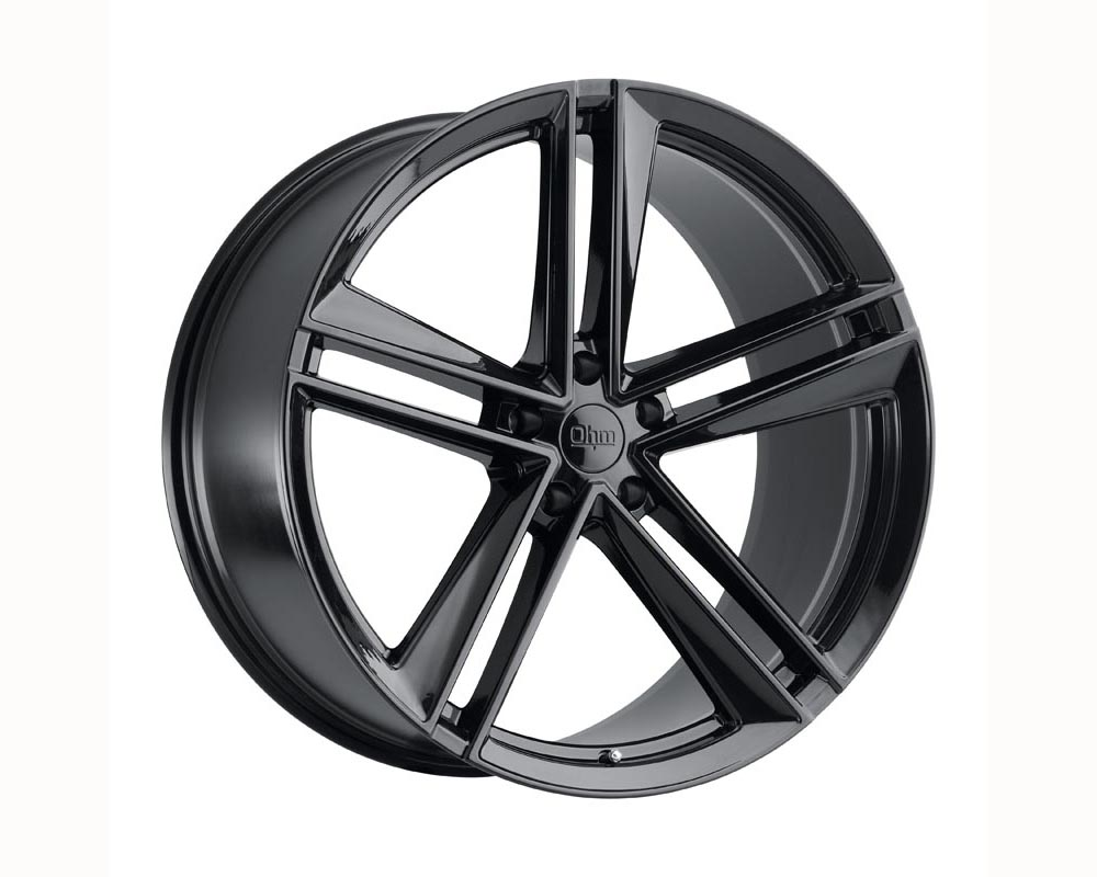 Ohm Lightning Wheel 18x8.5 5x114.30 30 Gloss Black