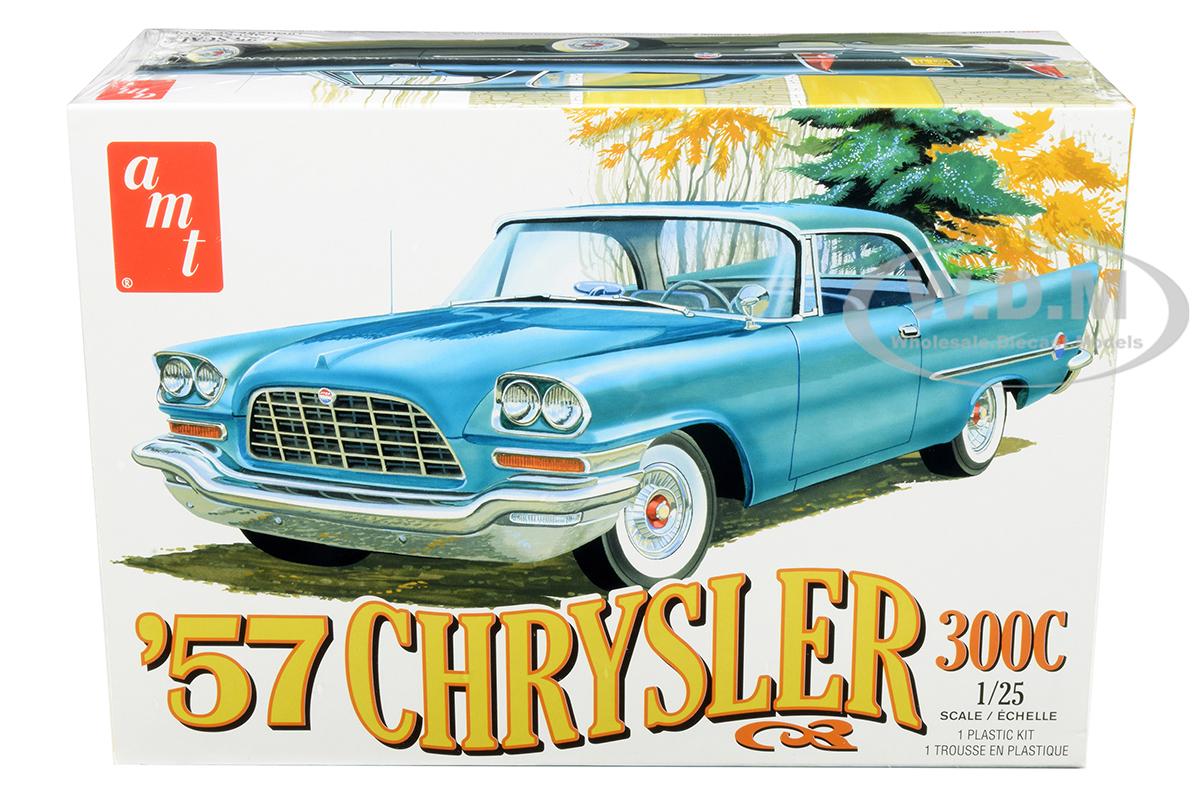 Skill 2 Model Kit 1957 Chrysler 300C 1/25 Scale Model by AMT