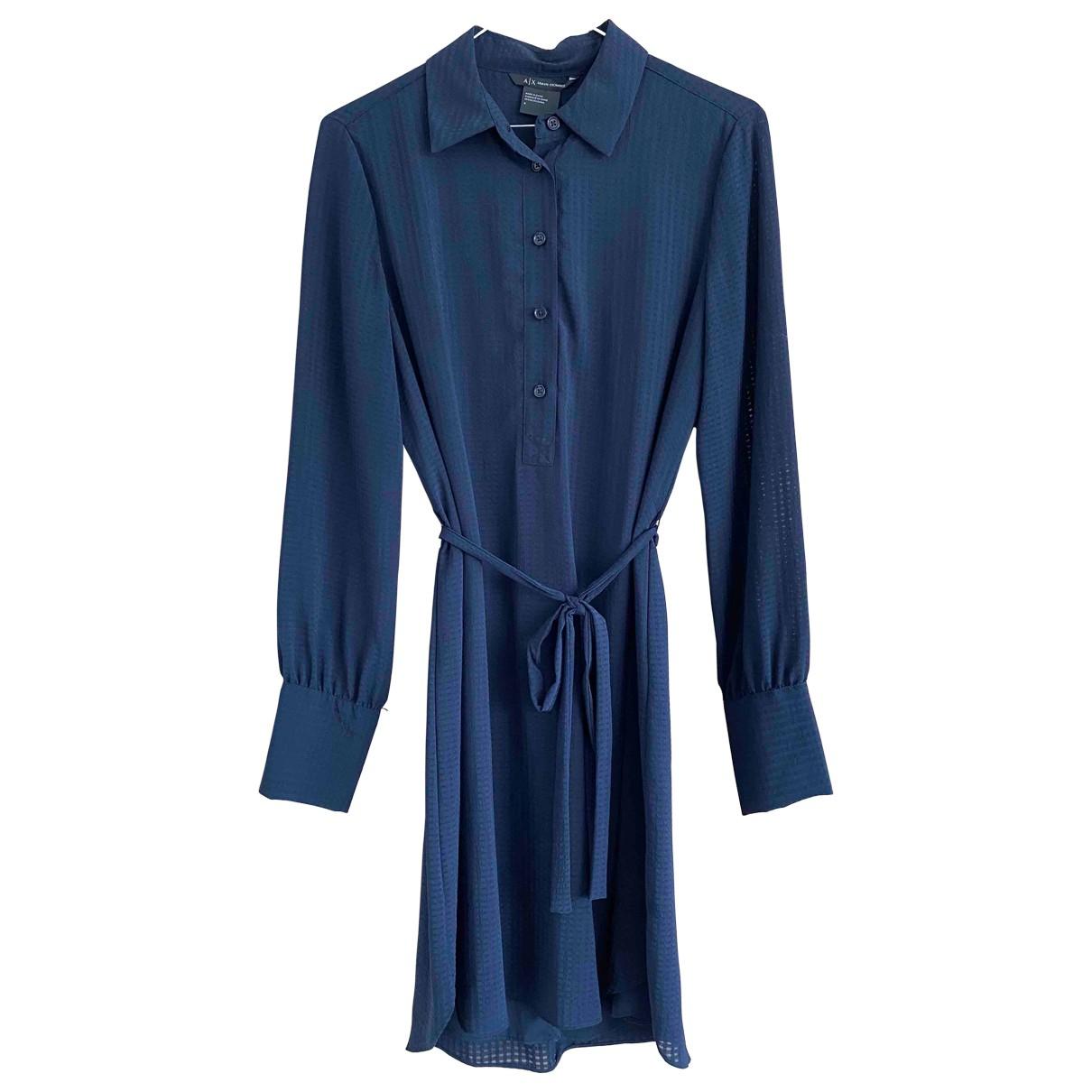Emporio Armani - Robe   pour femme - marine
