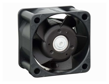 ebm-papst , 24 V dc, DC Axial Fan, 40 x 40 x 25mm, 19m³/h, 2.3W, IP20