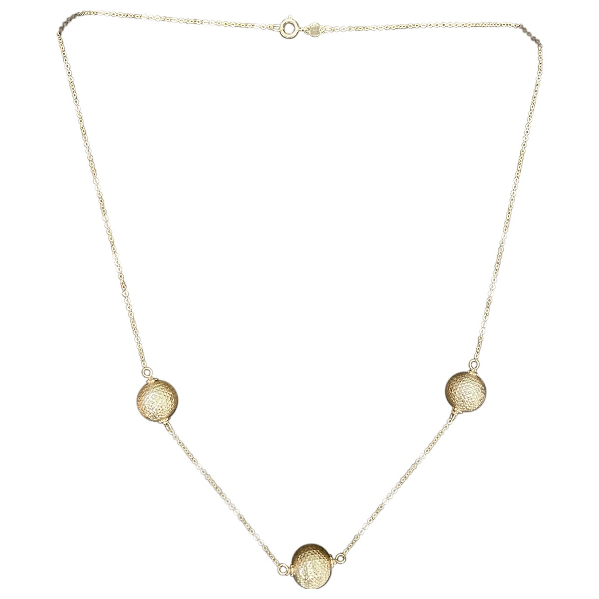 - Collier Motifs Coquillages pour femme en or jaune - dore