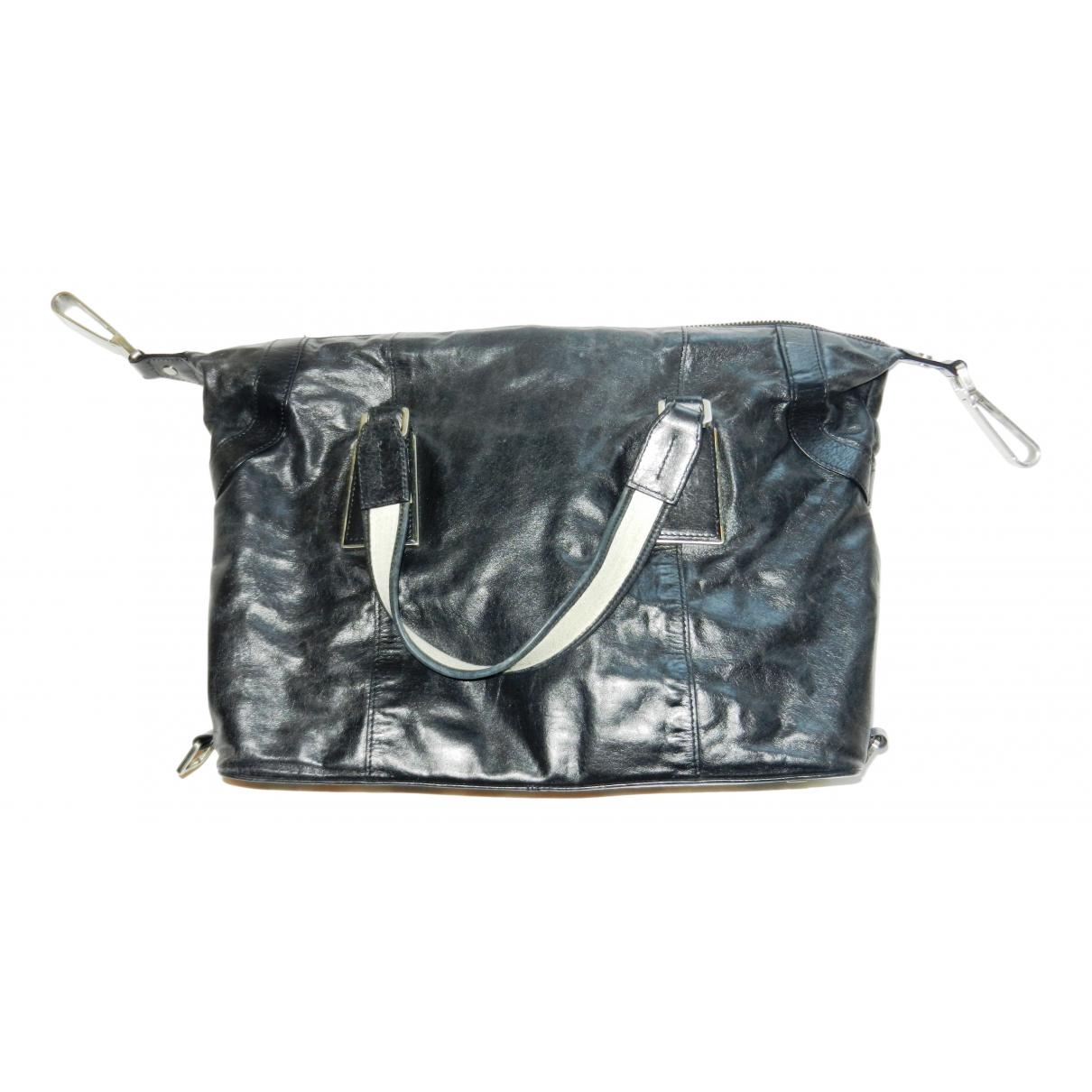 Calvin Klein N Black Leather handbag for Women N