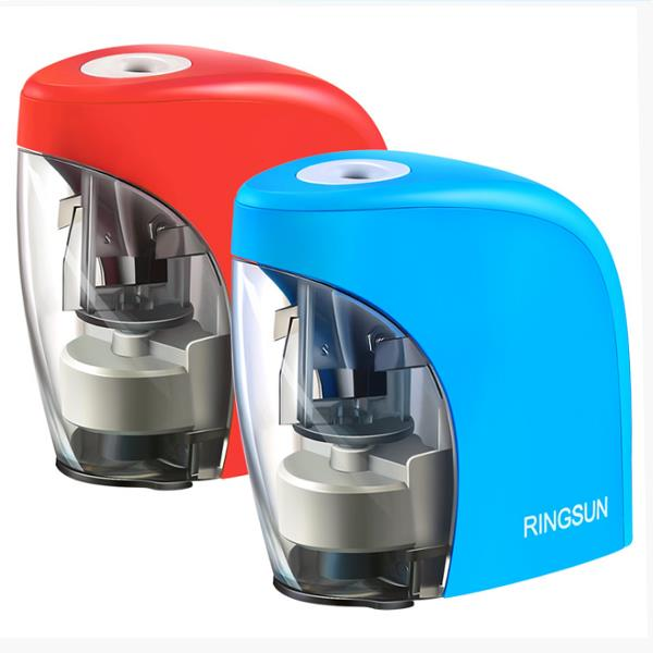 Ring Sun RS-A04431 Student Automatic Pencil Sharpener Children Electric Pencil Sharpener Art Stationery Supplies