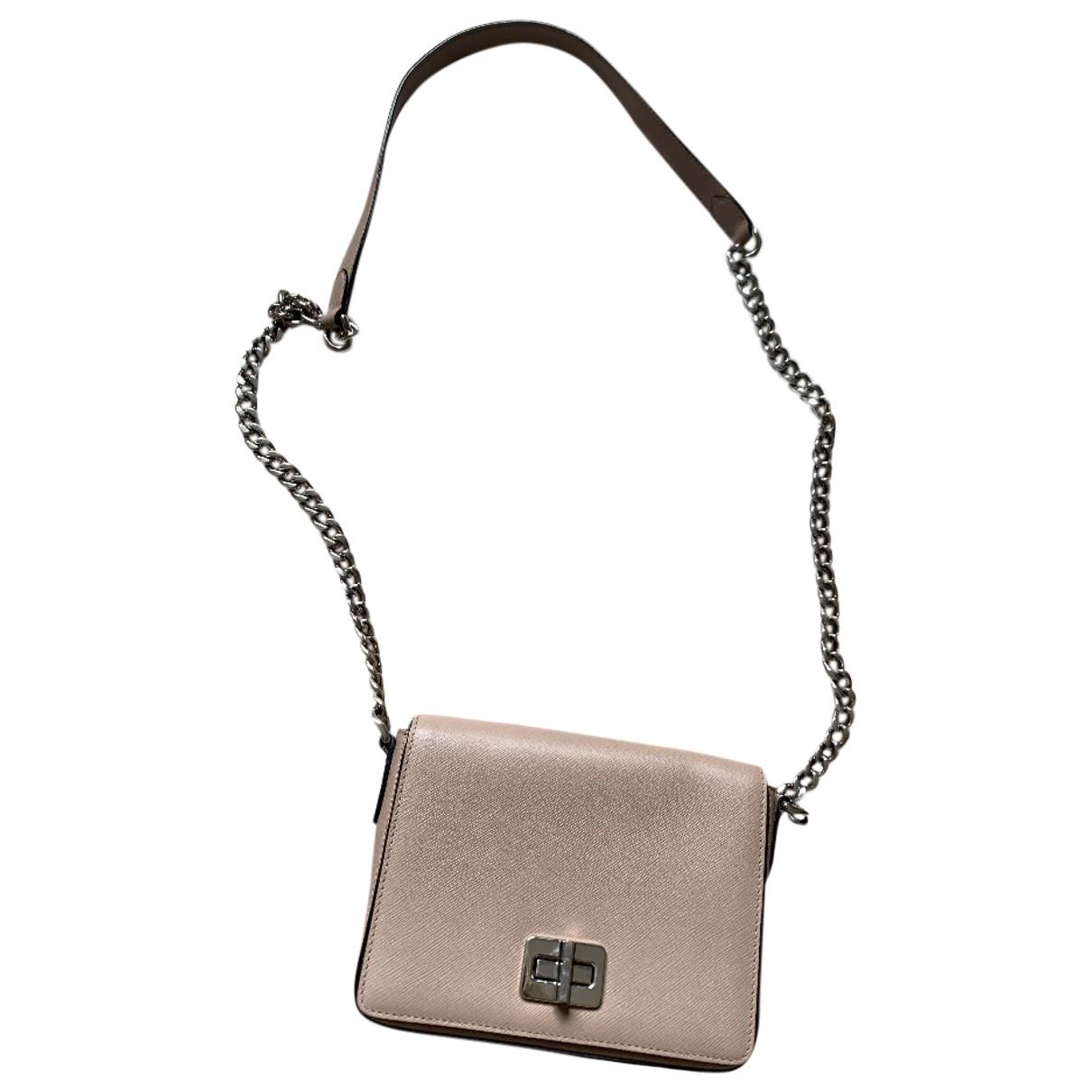 Prada \N Handtasche in  Rosa Leder