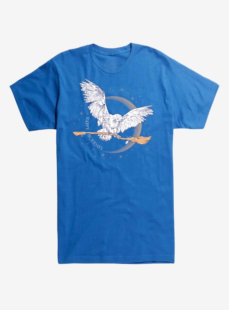 Harry Potter Happy Holidays Owl T-Shirt