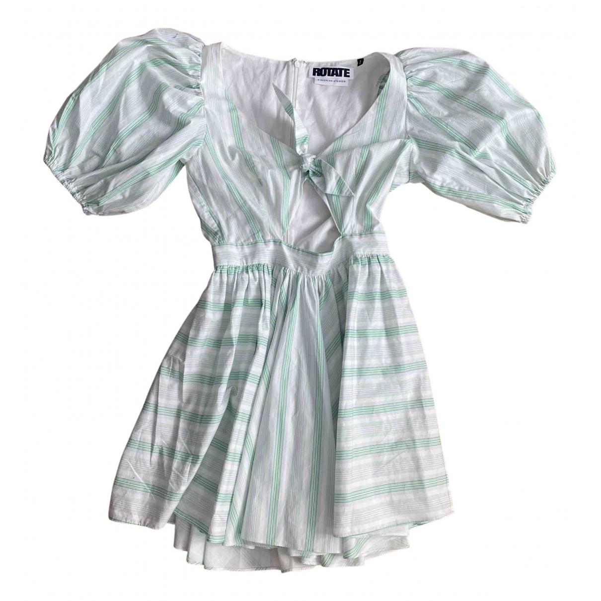 Rotate - Robe   pour femme en coton - blanc