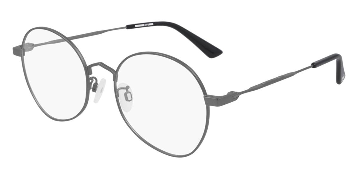 McQ MQ0290O 001 Men's Glasses Grey Size 52 - Free Lenses - HSA/FSA Insurance - Blue Light Block Available