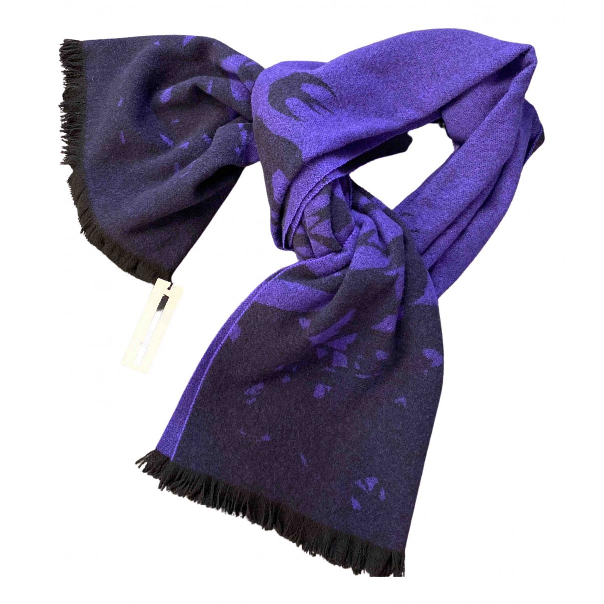 Alexander Mcqueen - Foulard   pour femme en laine - violet