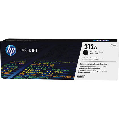 HP 312A CF380A Original Black Toner Cartridge