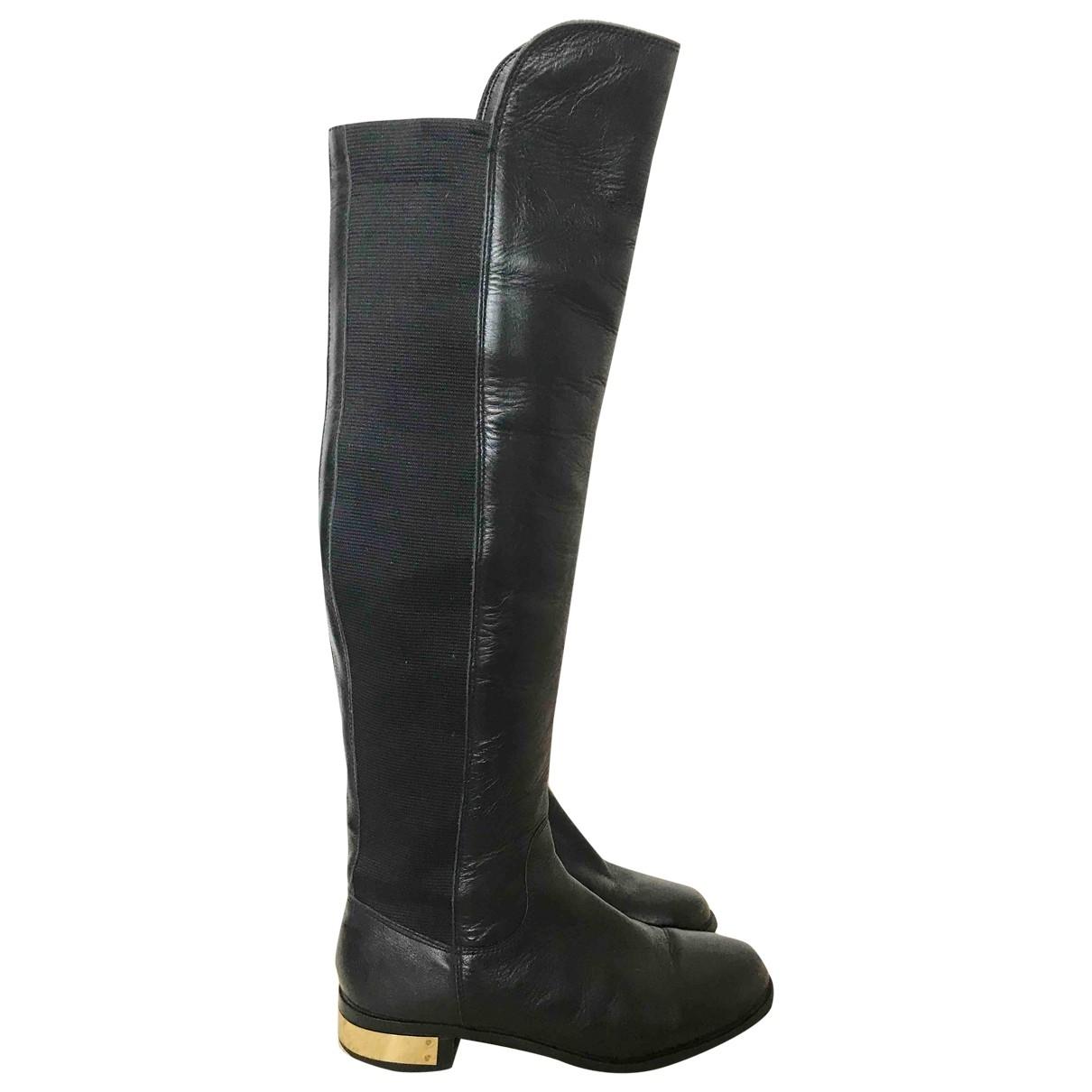 Kurt Geiger \N Black Leather Boots for Women 36 EU