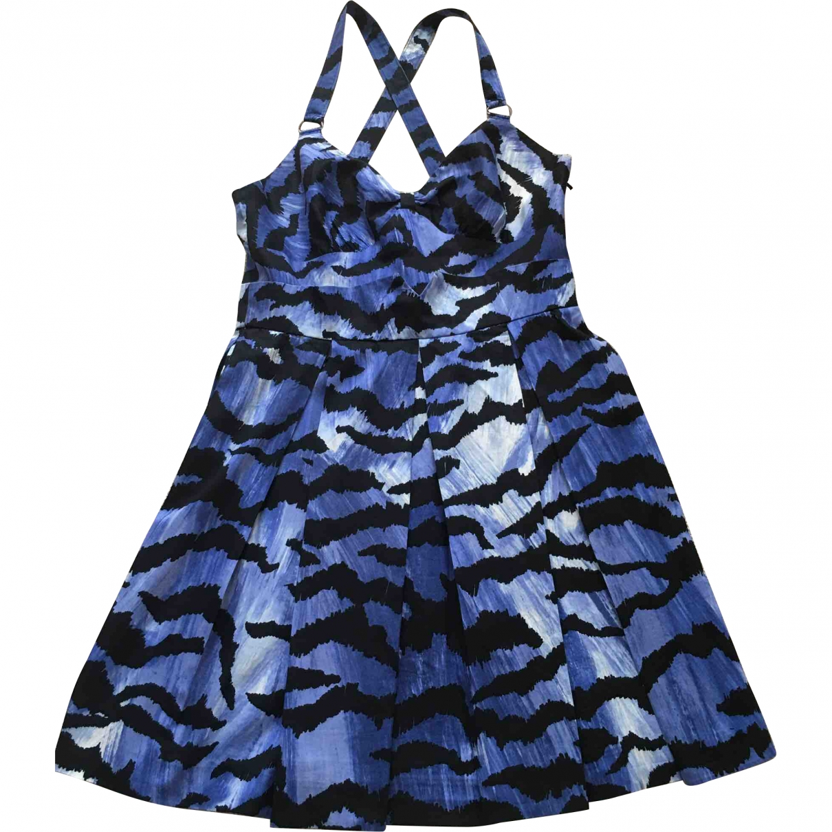 Alice By Temperley \N Blue Cotton dress for Women 10 UK