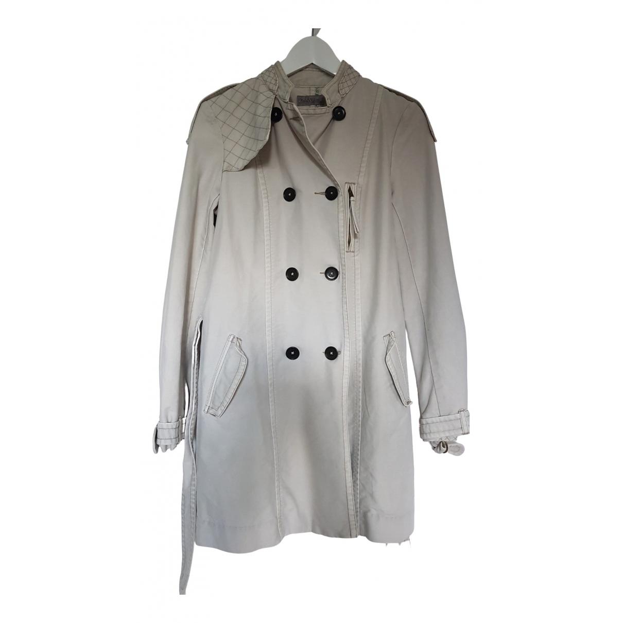 Zadig & Voltaire - Trench   pour femme en coton - gris