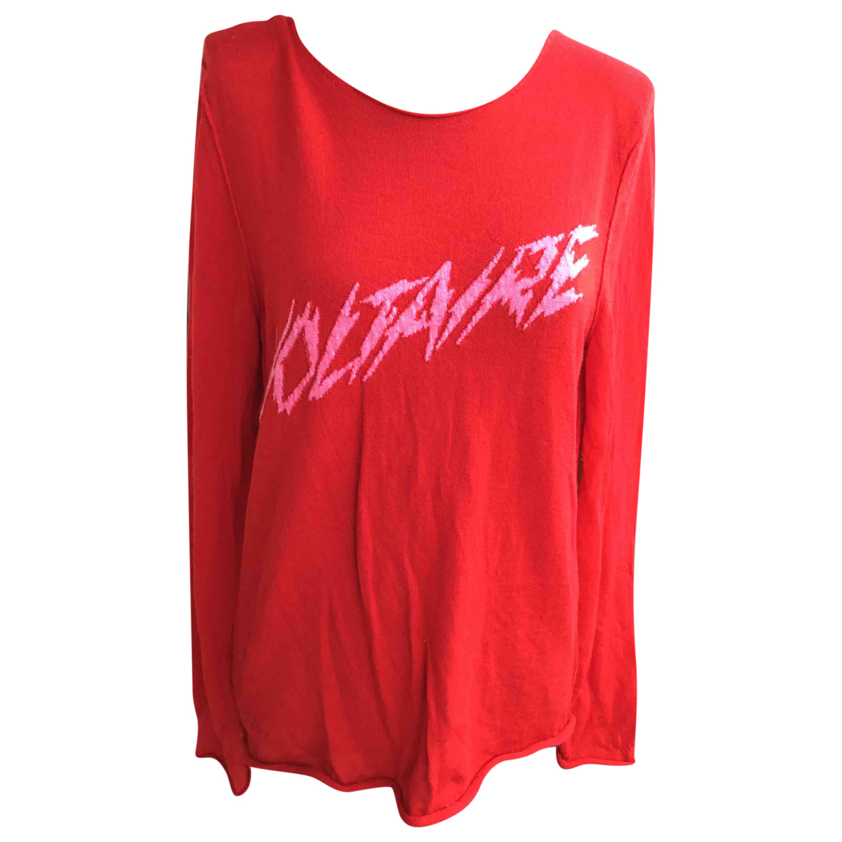Zadig & Voltaire Spring Summer 2019 Red Wool Knitwear for Women M International