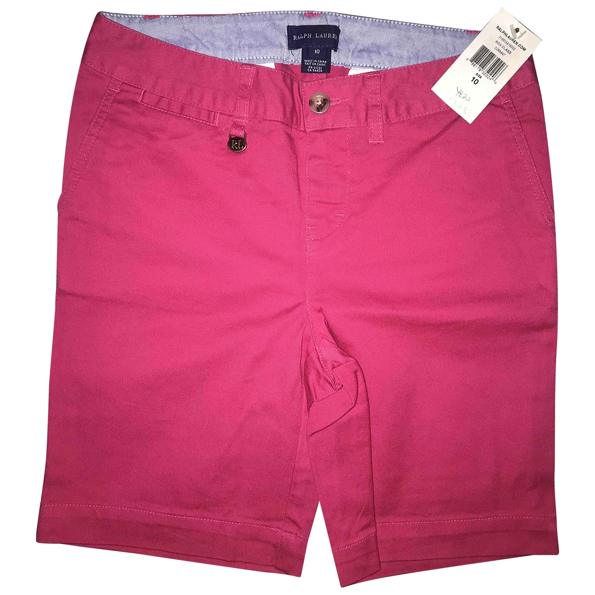 Ralph Lauren \N Shorts in  Rosa Baumwolle
