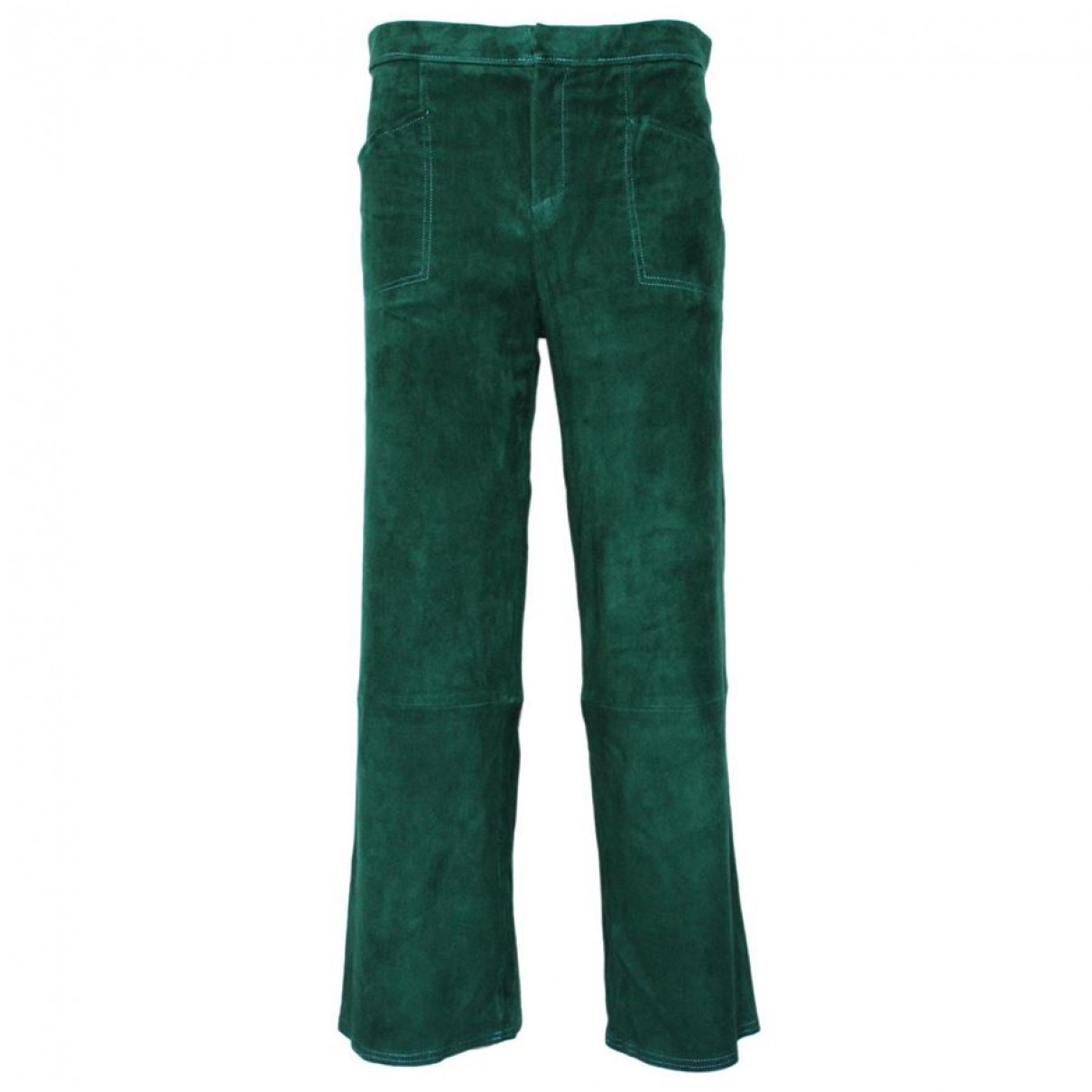 Stouls \N Green Suede Trousers for Women M International