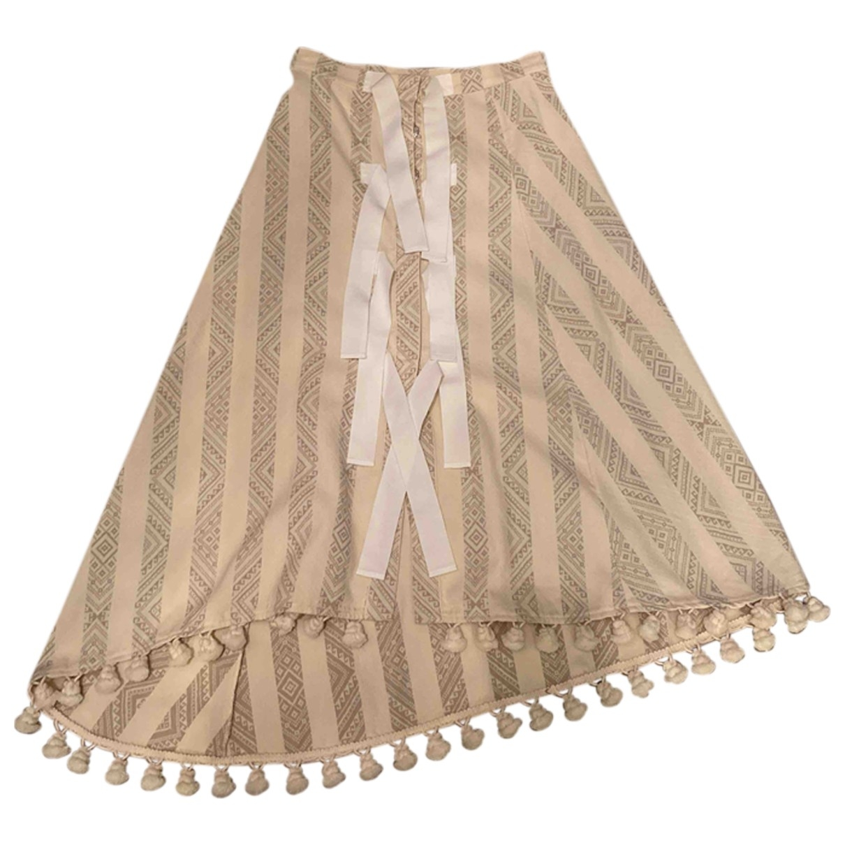 Altuzarra - Jupe   pour femme en coton - multicolore