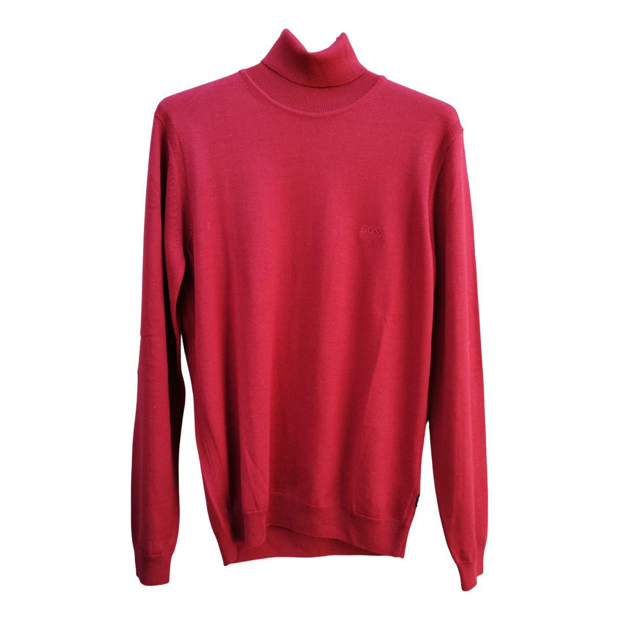 Hugo Boss N Red Wool Knitwear & Sweatshirts for Men L International