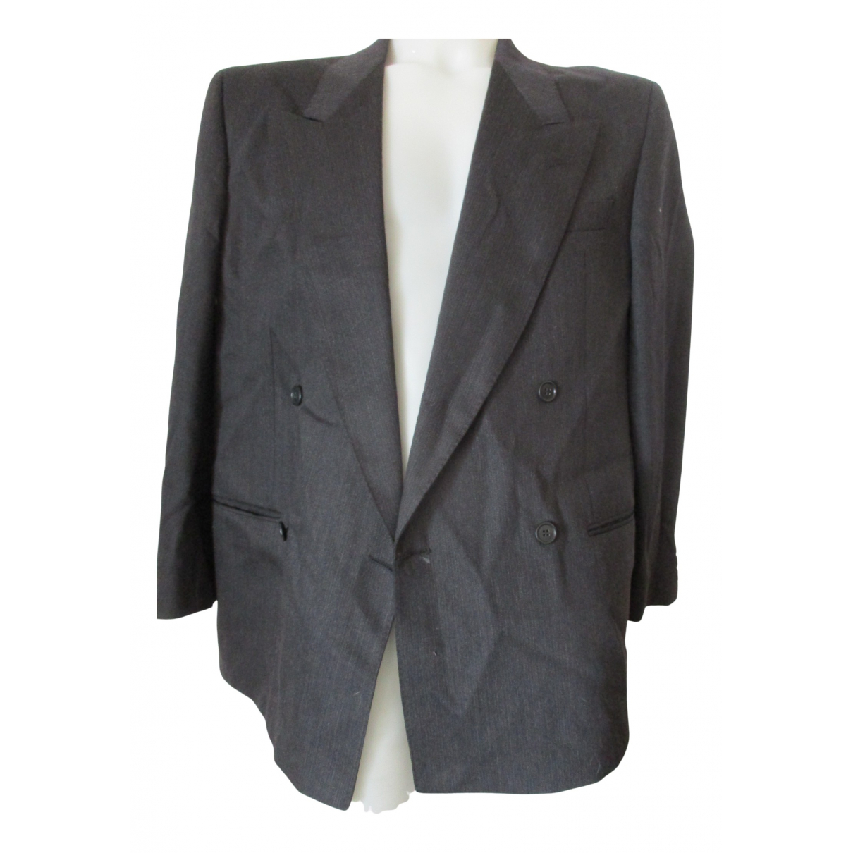 Valentino Garavani \N Jacke in  Grau Wolle