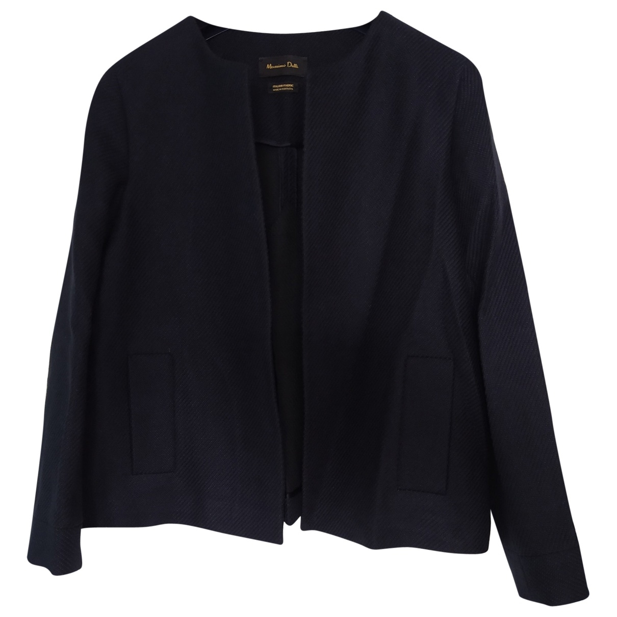 Massimo Dutti \N Navy jacket for Women 40 FR