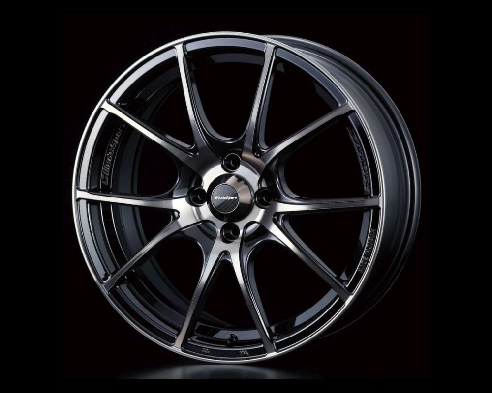 Weds SA-10R Wheel WedsSport 15x5 4x100 45mm Zebra Black