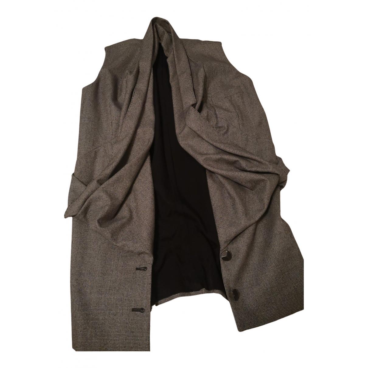 Stella Mccartney N Grey Wool Knitwear for Women 42 IT