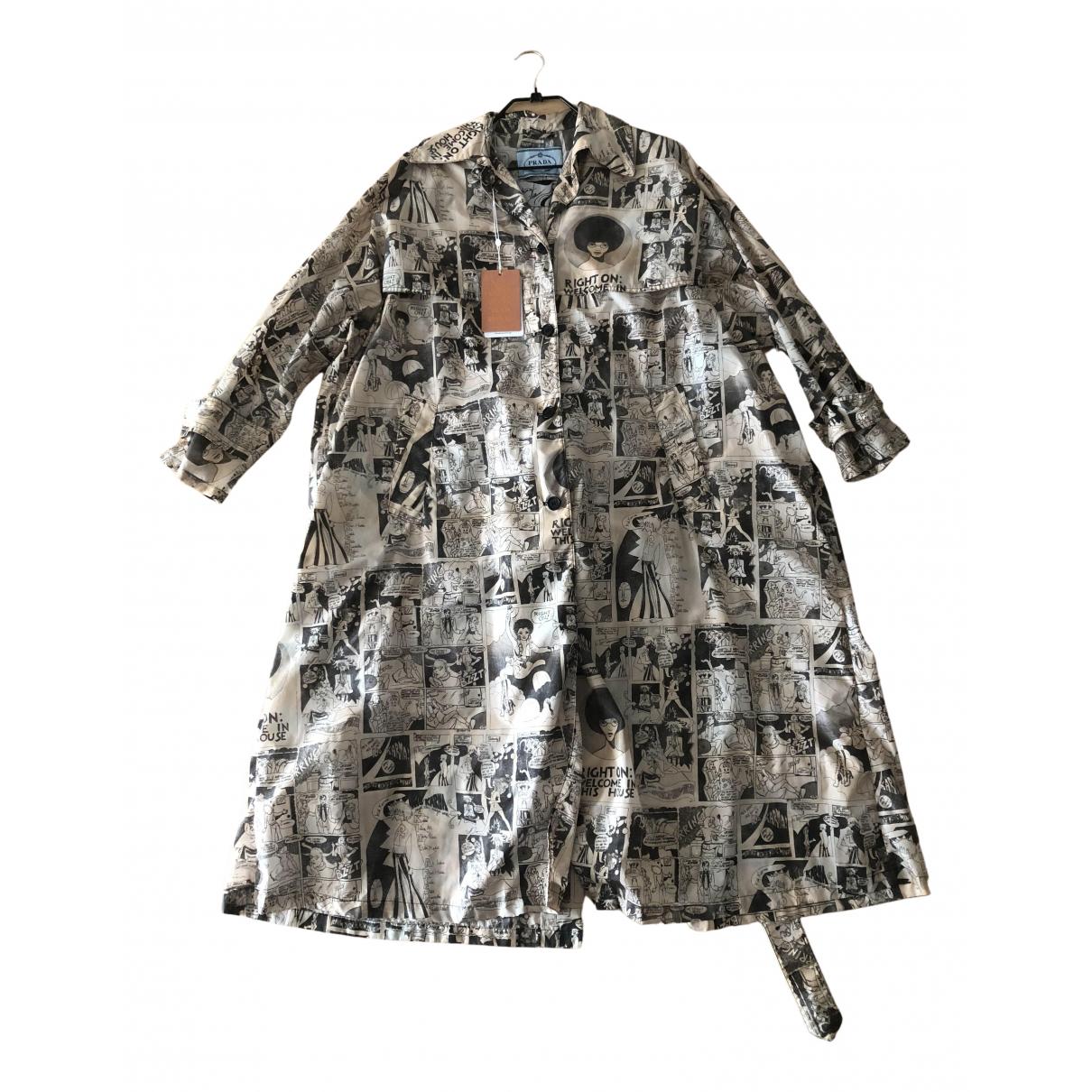 Prada N Beige Trench coat for Women 40 IT