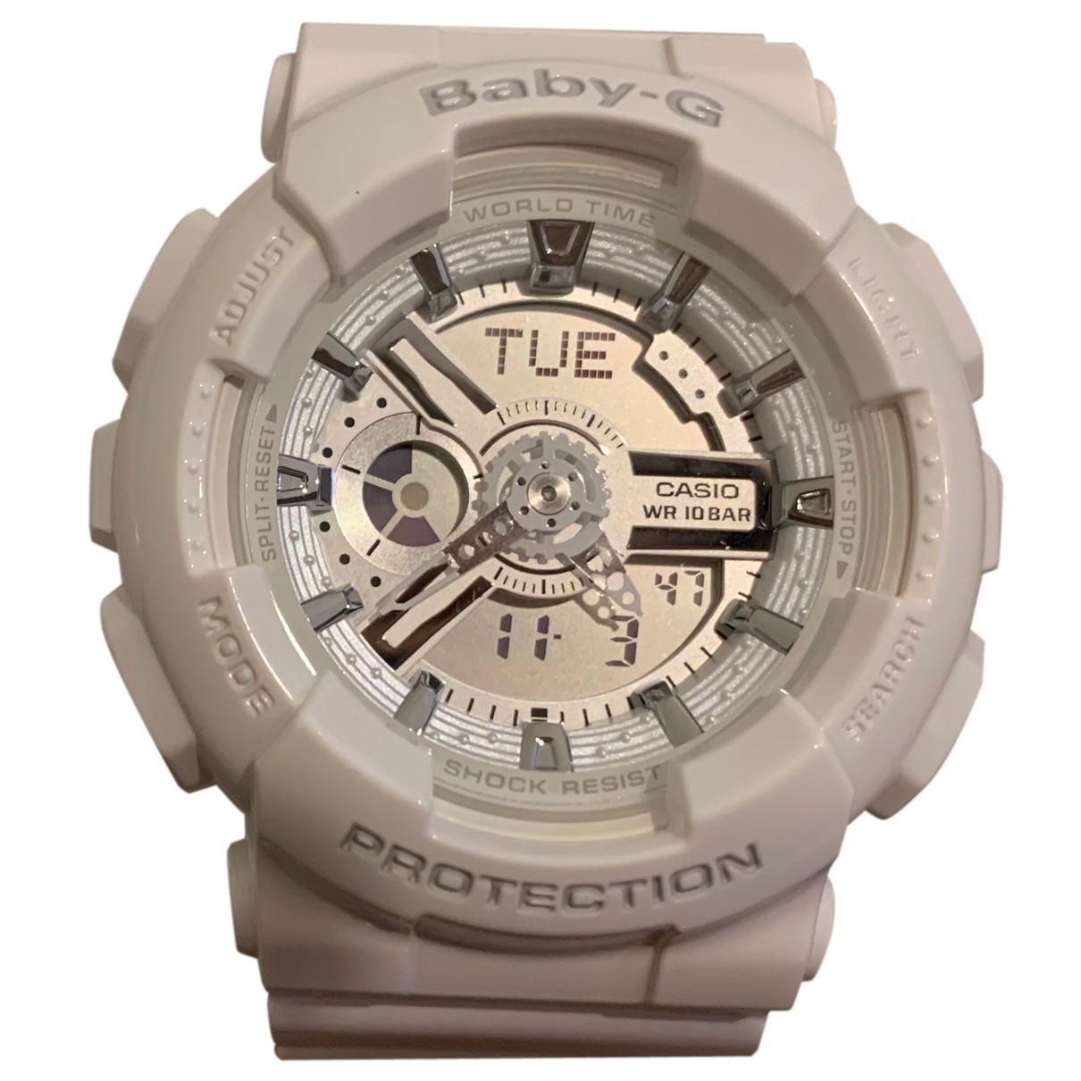 Casio N White Rubber watch for Women N