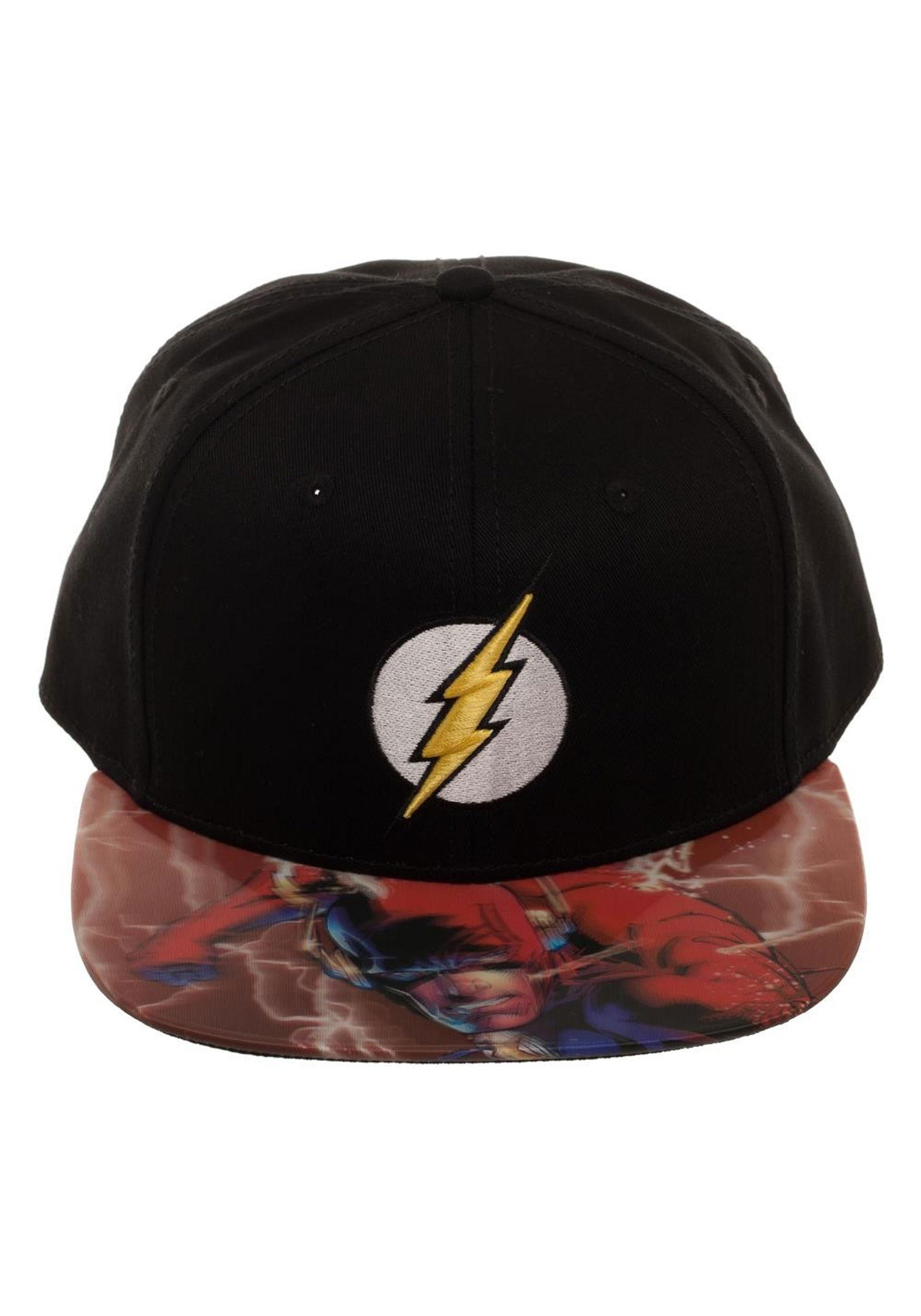 The Flash Lenticular Bill Snapback Hat