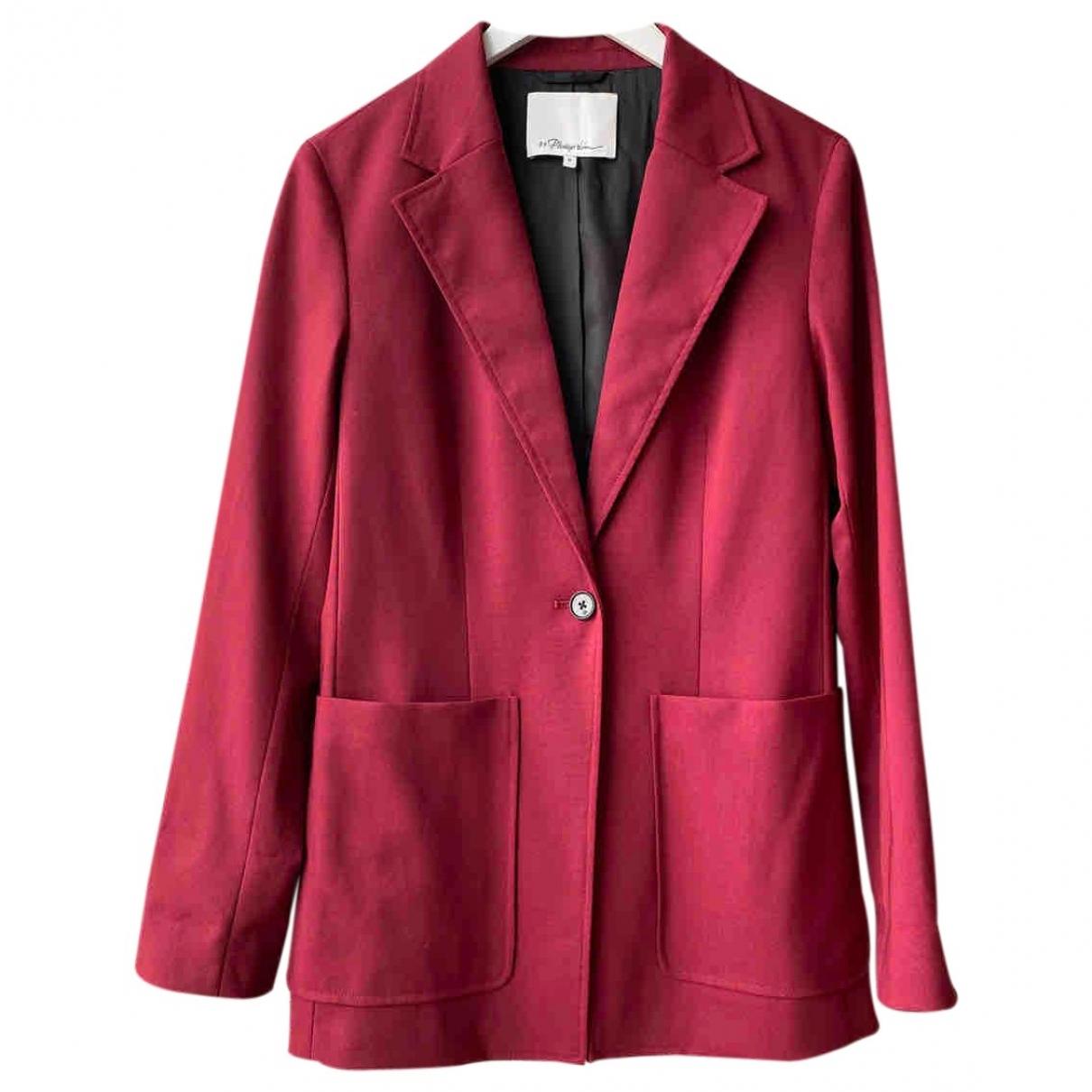 3.1 Phillip Lim - Veste   pour femme en laine - bordeaux