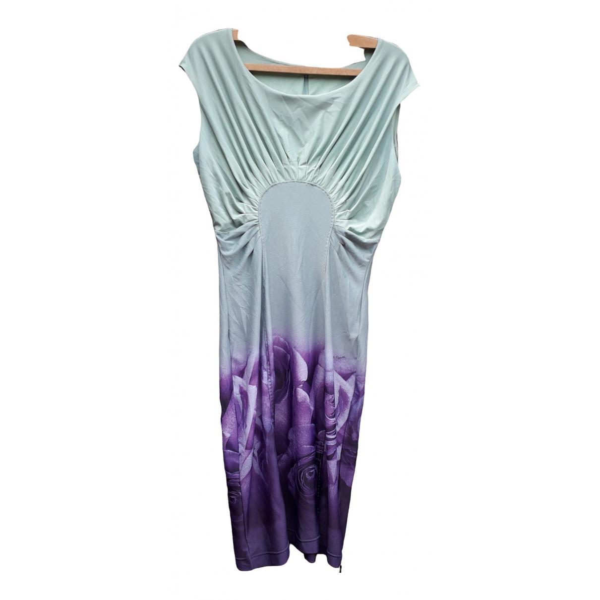Roberto Cavalli \N Purple dress for Women 42 FR