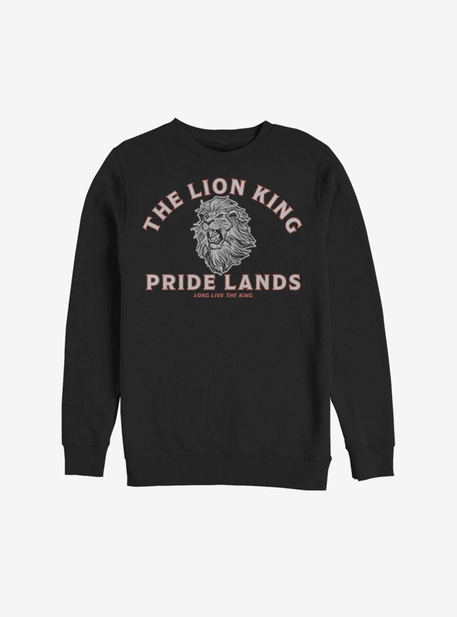 Disney The Lion King 2019 Minimal Lion King Back Sweatshirt