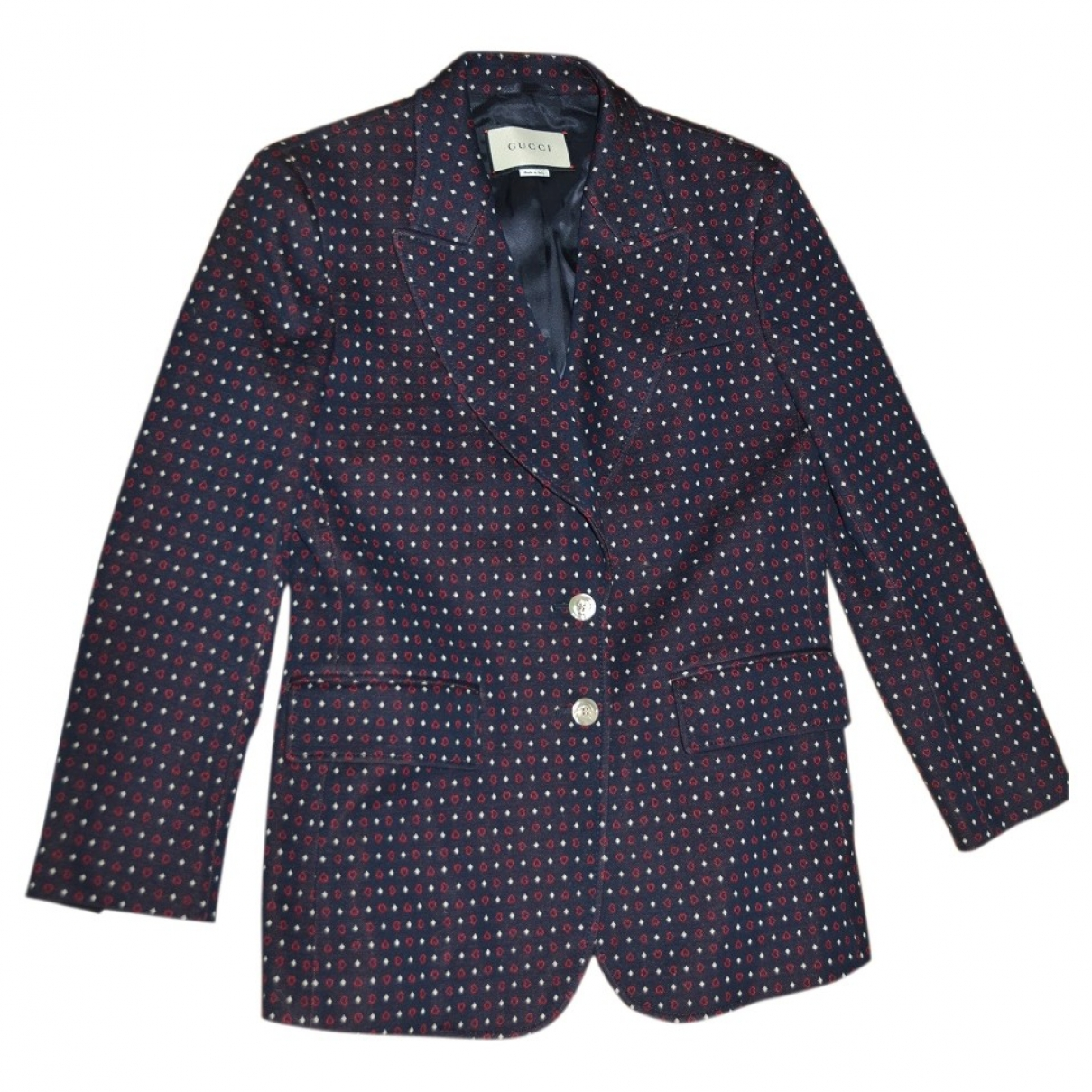 Gucci \N Multicolour Cotton jacket for Women 44 IT