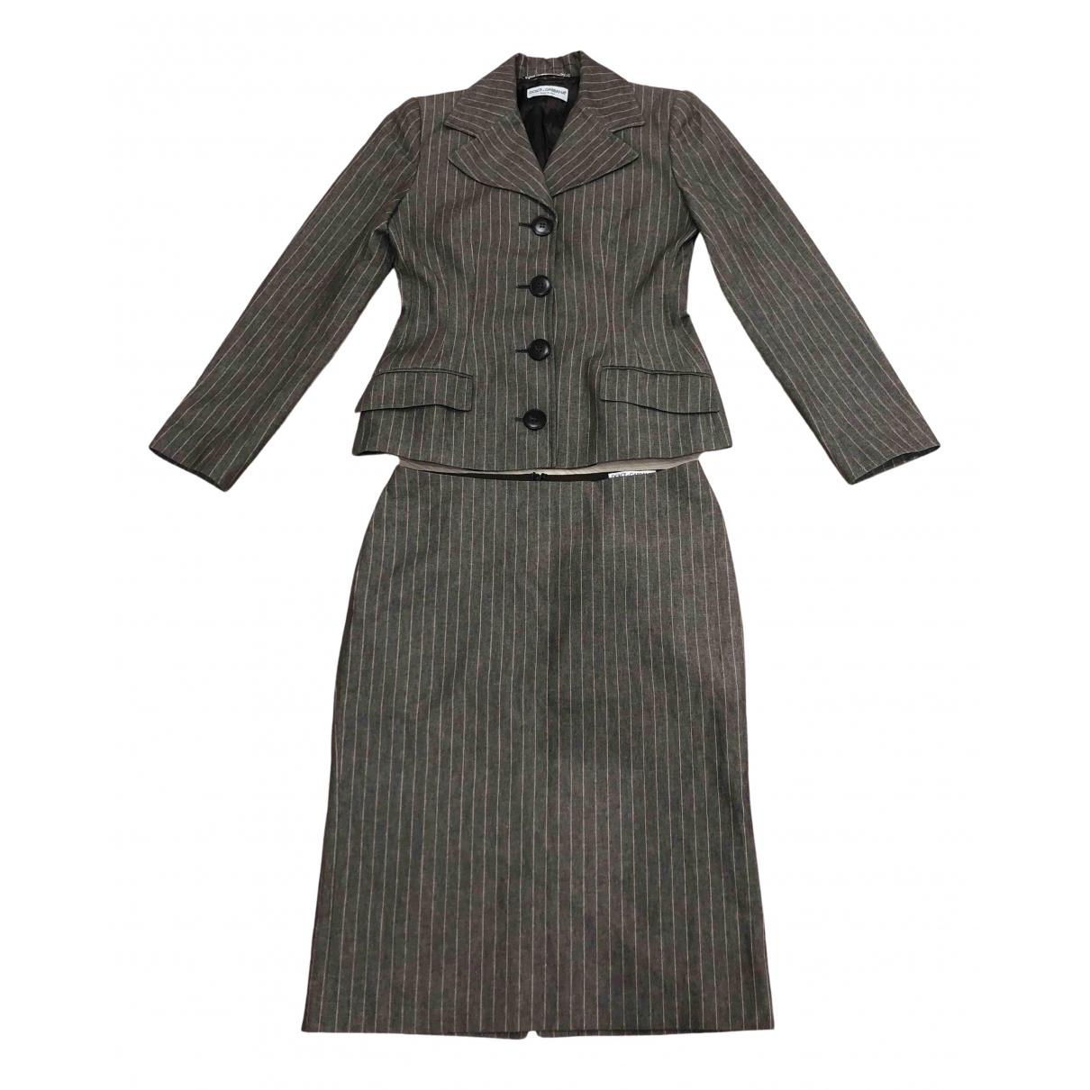 Dolce & Gabbana - Veste   pour femme en coton - marron