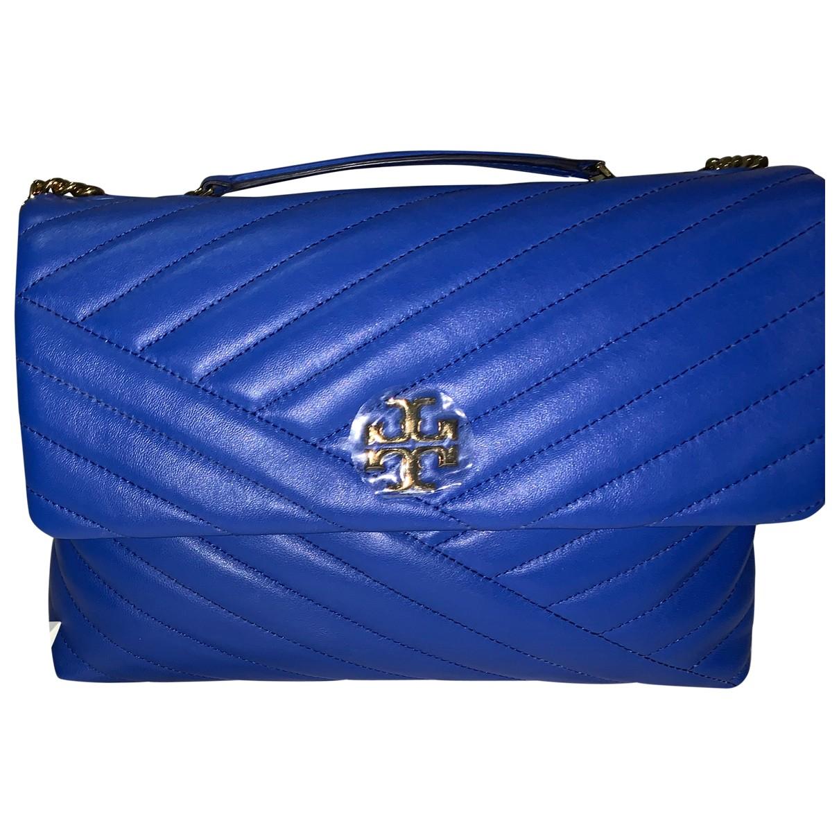 Tory Burch \N Blue Leather handbag for Women \N