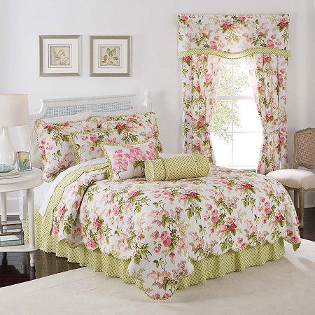 Waverly Emmas Garden Reversible Quilt Set, One Size , Multiple Colors