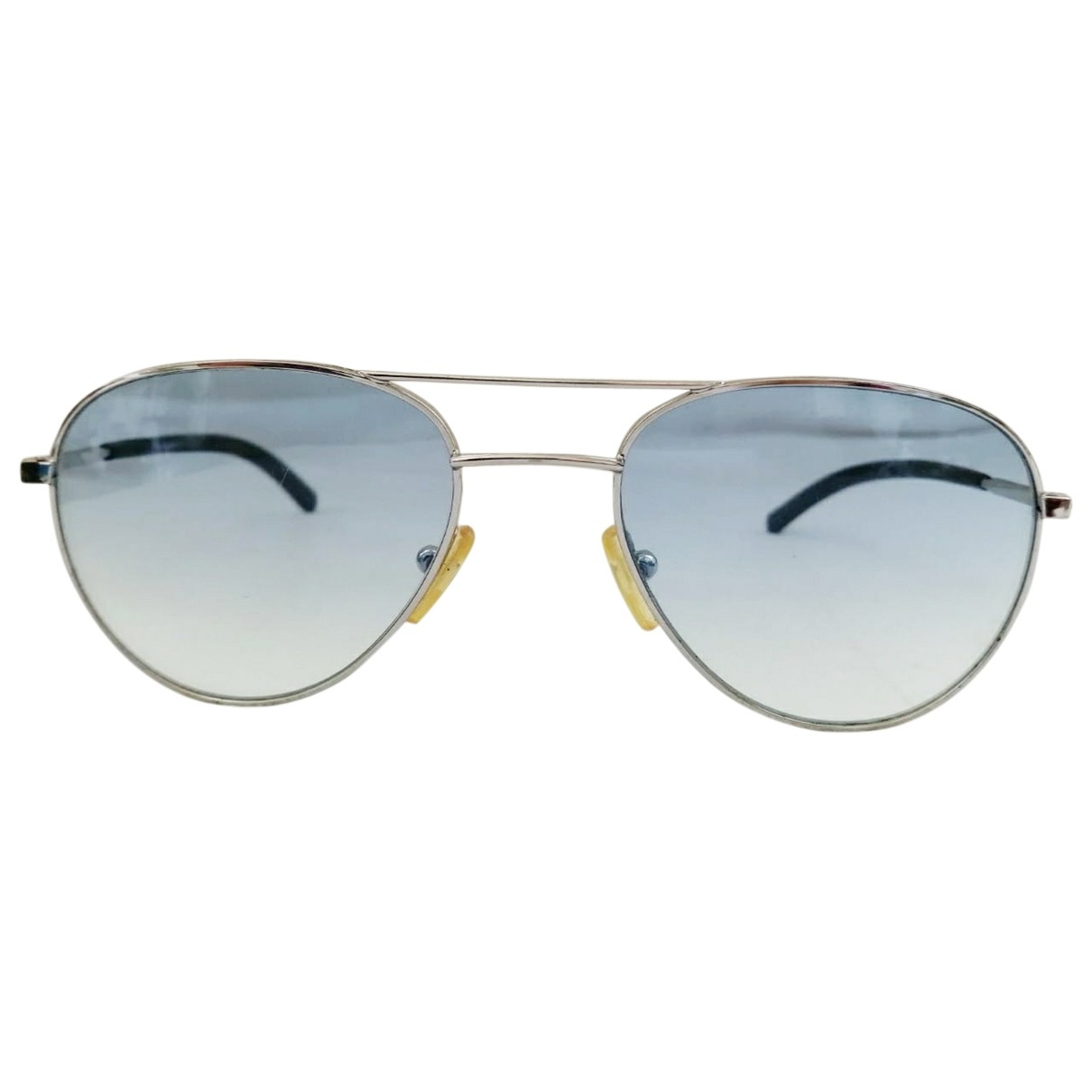 Burberry \N Silver Metal Sunglasses for Women \N
