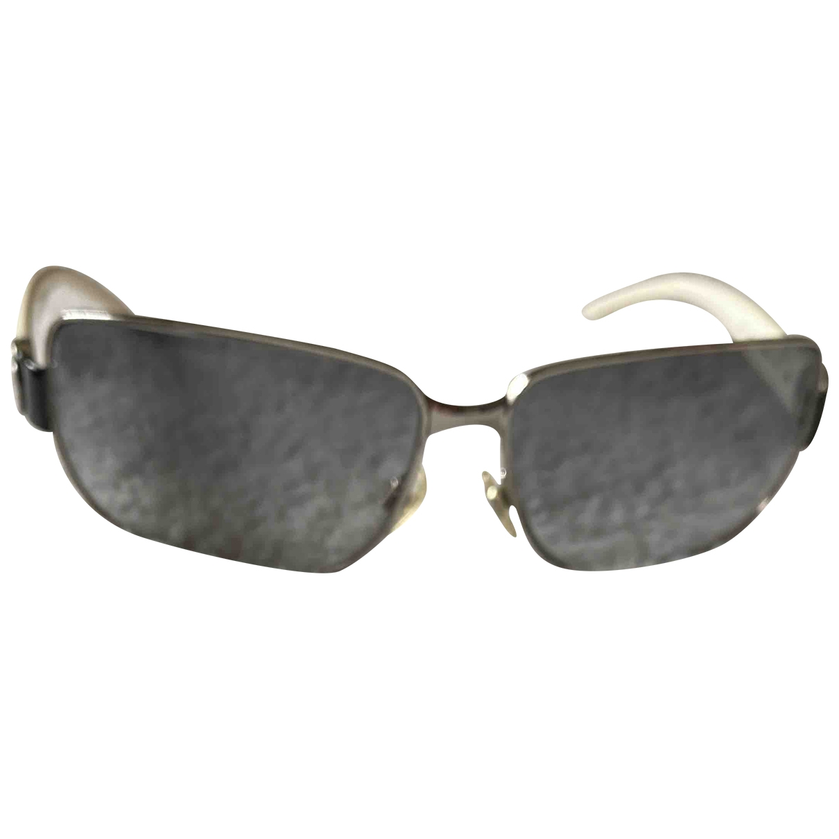 Chanel \N Sonnenbrillen in  Weiss Kunststoff