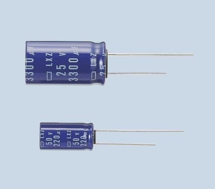 Nippon Chemi-Con 470μF Electrolytic Capacitor 16V dc, Through Hole - ELXZ160ELL471MH15D (5)