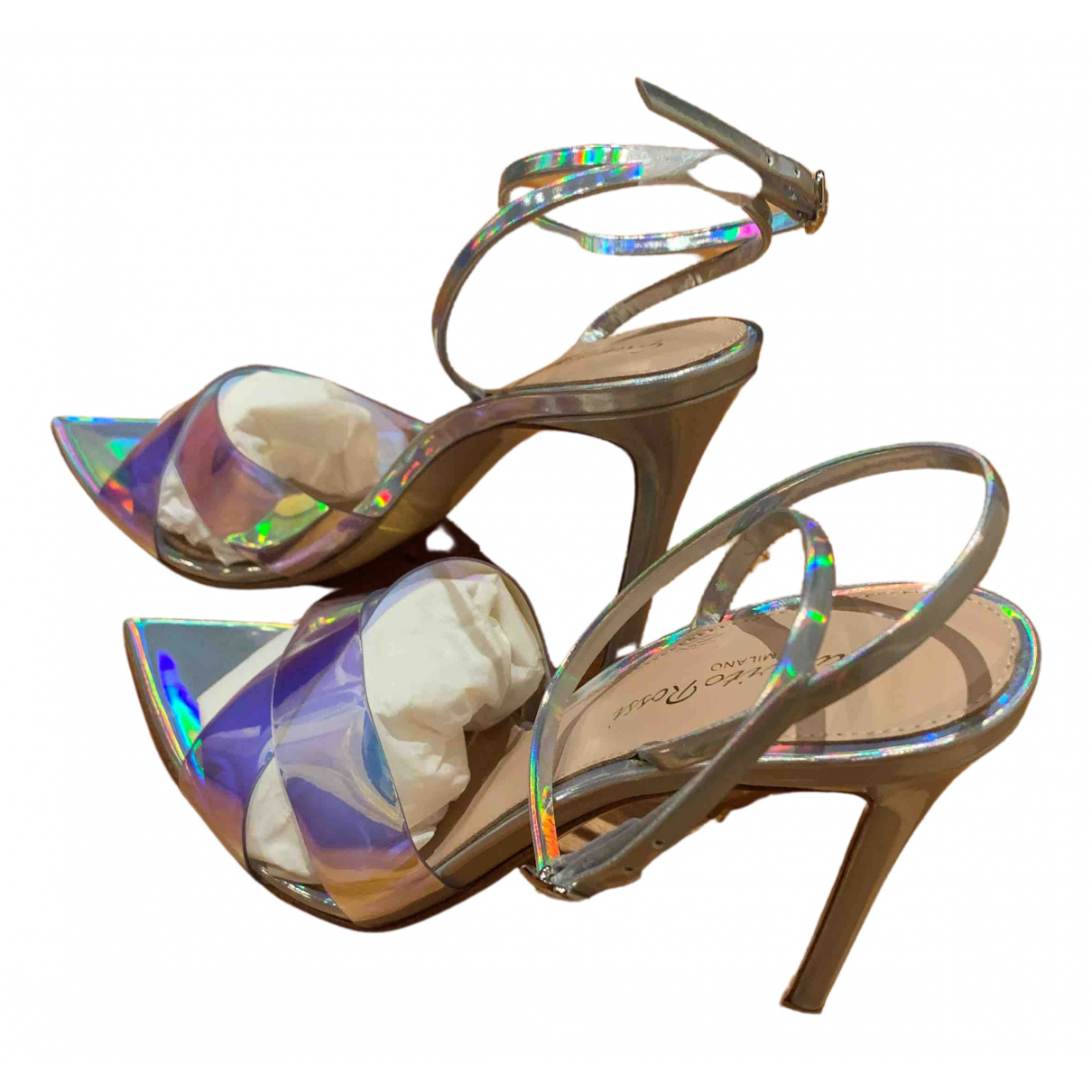 Gianvito Rossi \N Sandalen in Kunststoff