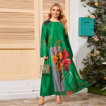 Vestidos Tallas Grandes Floral Bohemio