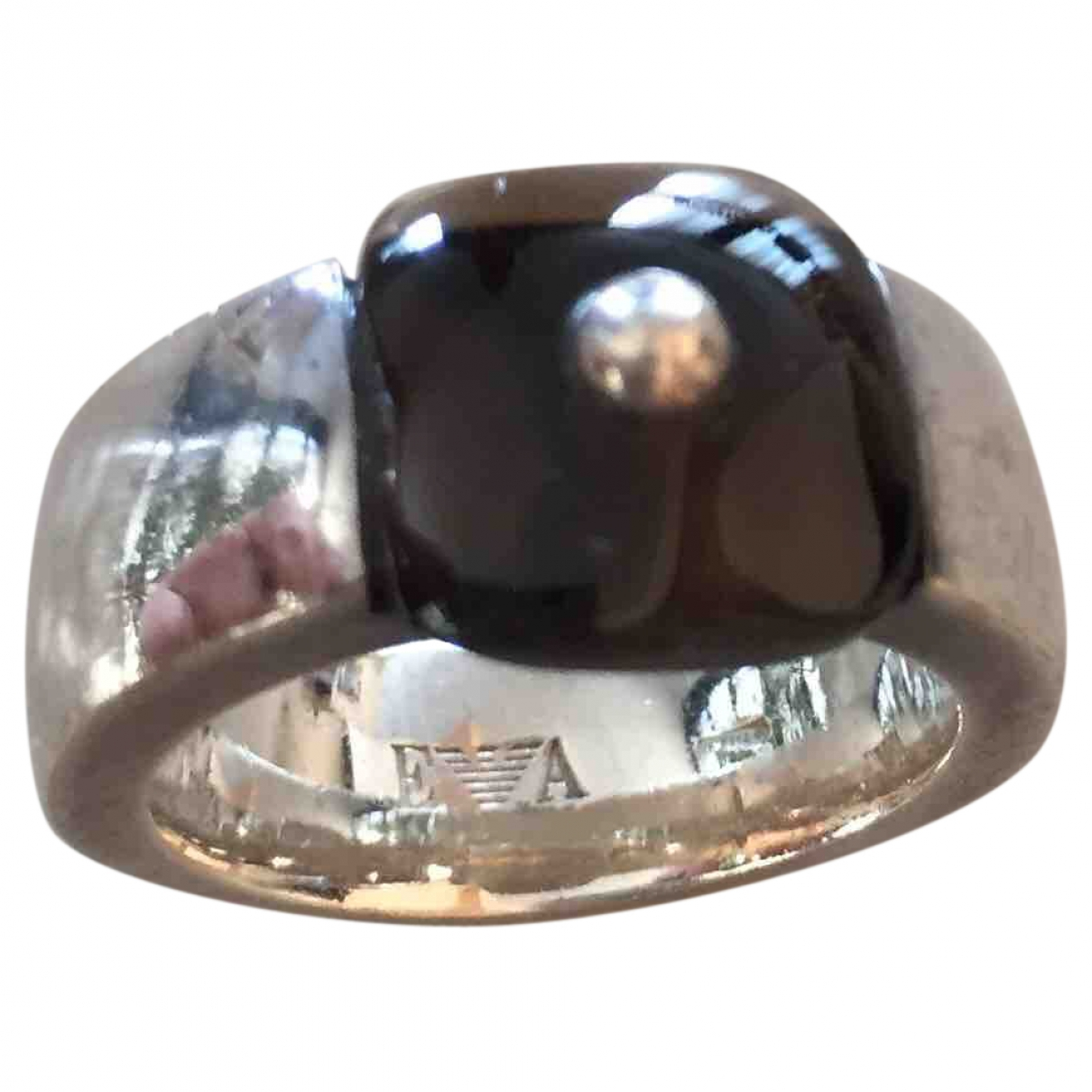 Emporio Armani \N Ring in  Silber Silber